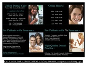 New Dentist Office - Grand Opening - Monthly Payments Available